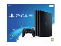 Playstation Pro 1TB with box.