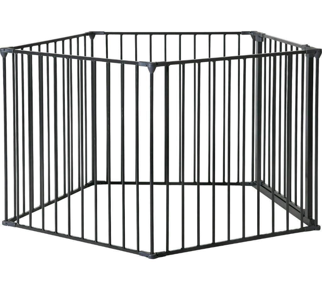 pet pen puppy gate safety pen dog crate in. Black Bedroom Furniture Sets. Home Design Ideas