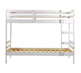 Bunk Bed - White - Good Condition