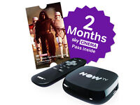 NOW TV box with 2 months Sky Cinema pass included
