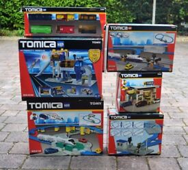 Tomica train and related items