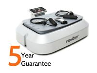 Vibro plate reviber on 4.5 years warranty, used 3 times