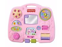 Baby Fisher Price cot activity centre