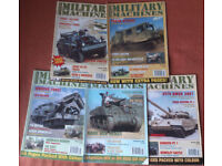 International Military Machines magazines (19 issues)