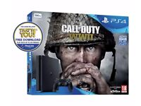 Brand new PS4 Slim wih COD WW2