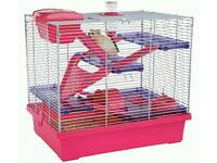 Rosewood gray Pico Hamster Cage - X Large