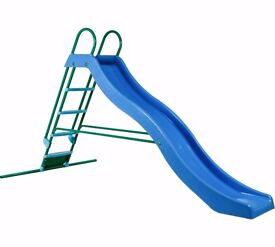 10ft slide with matching swing