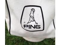 Set of ping golf irons and bang !!