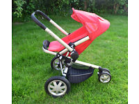 Quinny Buzz pushchair Stroller - Red ono