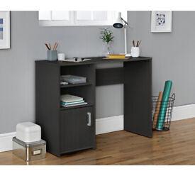 Home Lawson Office Desk - Black