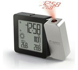 Oregon Scientific PROJI Time Projection Alarm Clock new