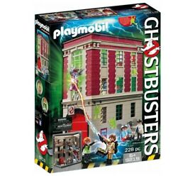 ghostbusters playmobil firehouse