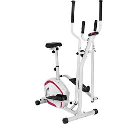 Davina Cross Trainer and Exercise Bike 2-in-1