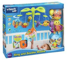 Brand new Vtech Sing and Soothe cot mobile
