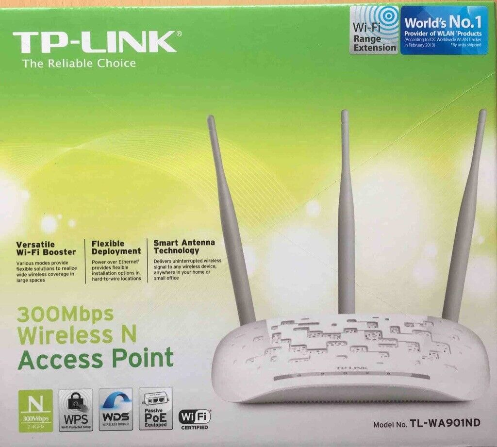 TP-LINK 300 Mbps Wireless N Access Point (x3 Available) | in Cults,  Aberdeen | Gumtree