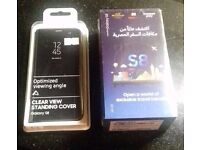 Samsung Galaxy S8 Brand New Sealed Box with Brand New Sealed Cover - Sim Free