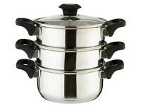 Russell Hobbs 3-Tier Stainless Steel Steamer