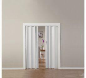 White Oak Effect Folding Double Door700/4542