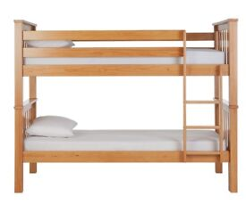 Bunk bed solid wood