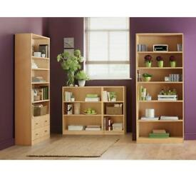 2x bookcase/ bookshelf