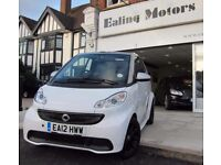 2012 SMART FORTWO CONVERTIBLE,PETROL,AUTO,TAX FREE,25K MILES,SAT NAV,BLUETOOTH,AIR CON,FULL HISTORY