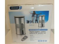 Outdoor Stereo Speakers - Wireless - new in box