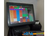 Panasonic JS-925WS POS Lite-ray EPOS Touch Screen Fanless Epos System 4 Retail Hospitality ICR