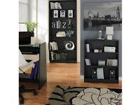 BNIB Argos Black Effect Baby Bookcase (H) 82.5cm X (W) 65cm X (D) 16.5cm