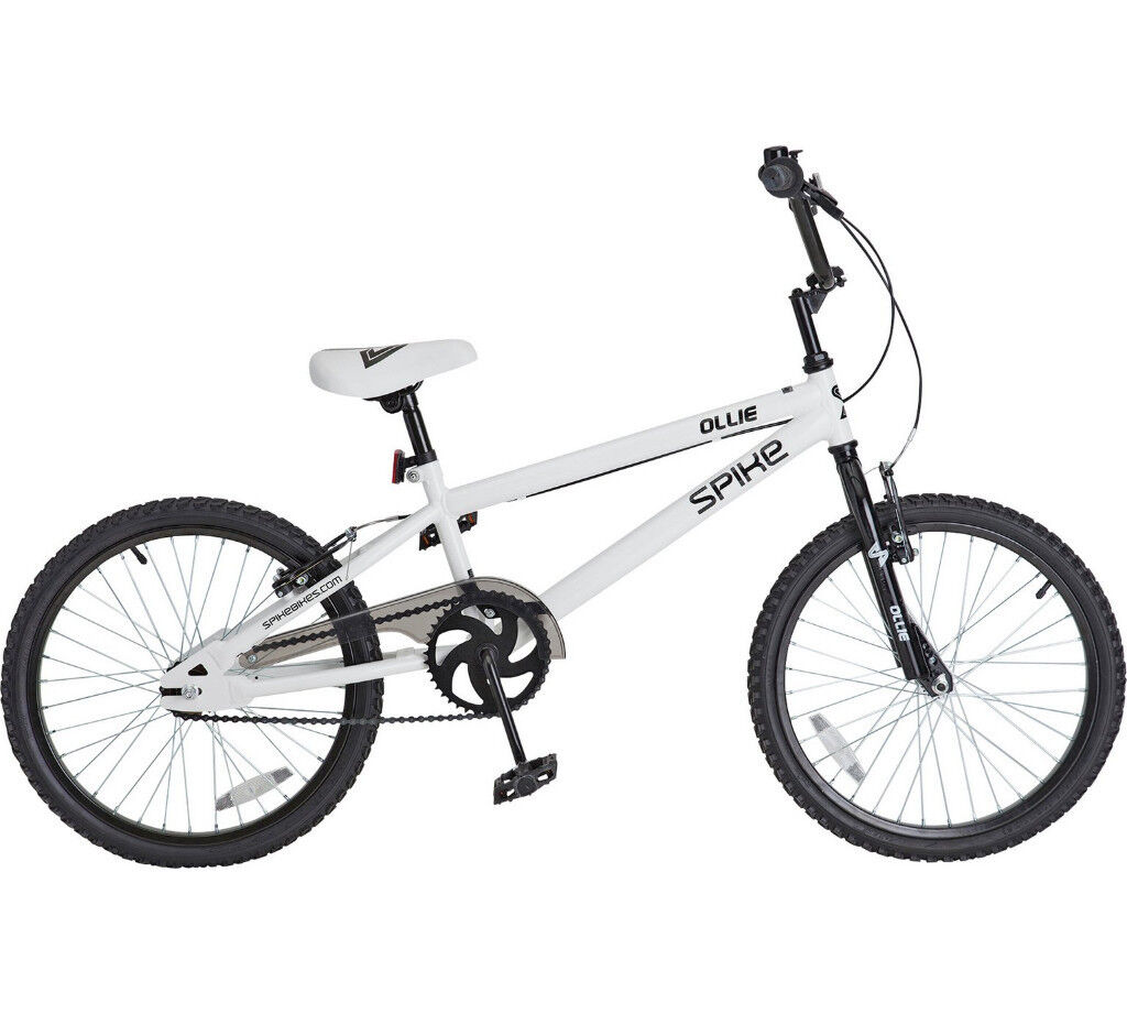 BMX - white. Great condition. SPIKE OLLIE. Cheap