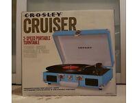 Crosley cruiser record player New unopened box