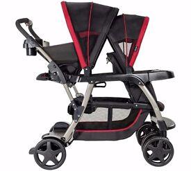 Graco Ready2Grow Pushchair - Chilli Sport - 2 Seats (12 riding positions) pram buggy stroller