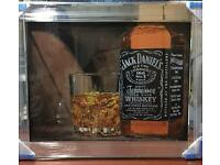 Jack Daniel Grey Goose liquid art pictures quality, used for sale  Merseyside