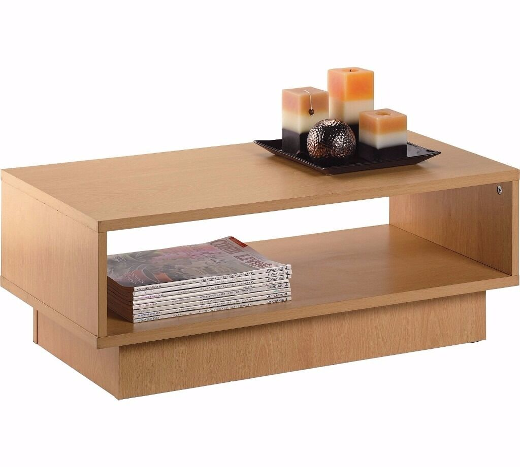 Argos home cubes 1 shelf coffee table beech effect in argos home cubes 1 shelf coffee table beech effect geotapseo Images