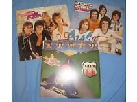 Vinyl Albums x 3 - Bay City Rollers - for all your tartan glam rock on a record player