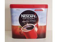 Nescafé Original Instant Coffee Granules 750g Tin 416 Mugs EXP DEC 21 Hot Drink