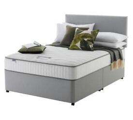 Silent night Middleton grey bed frame