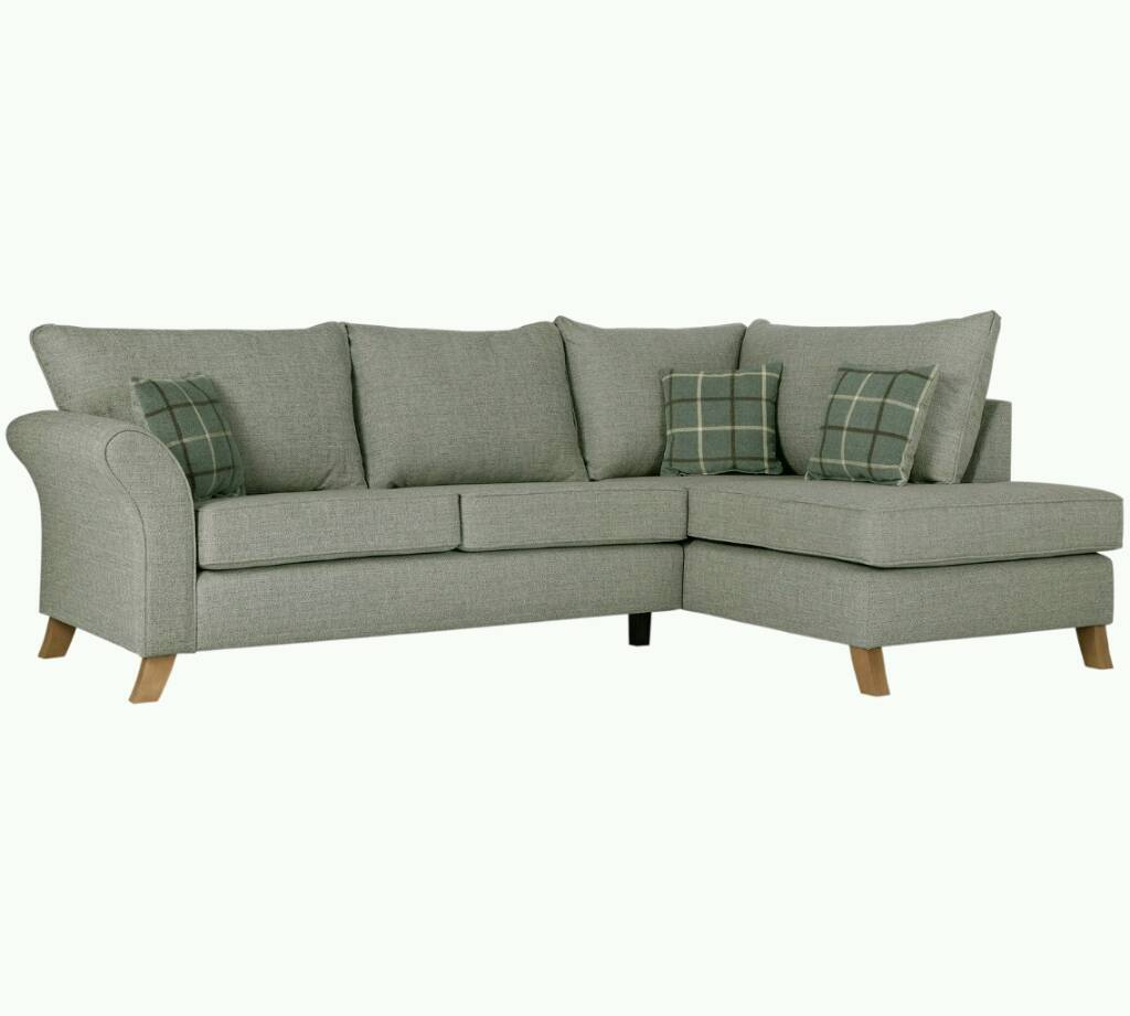 Kayla Right Hand Facing Corner Sofa New Ex Display