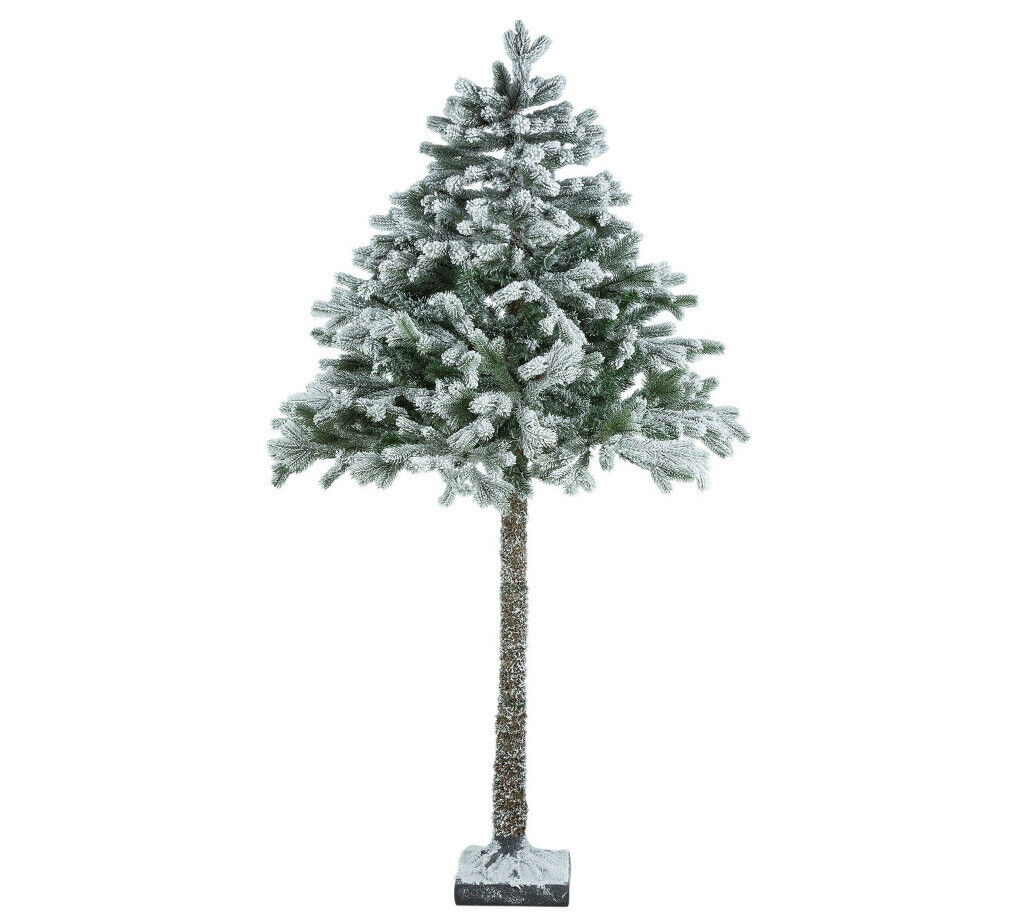 HALF PRICE!!! 6ft Snowy Half Christmas Tree RRP £99 | in Leicester ...