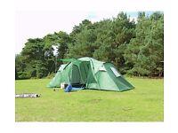New Trespass 6 Man 2 Room Tent