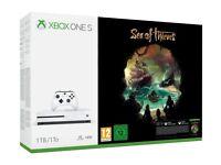 Microsoft Xbox One S Sea of Thieves 1TB Console - White NEW