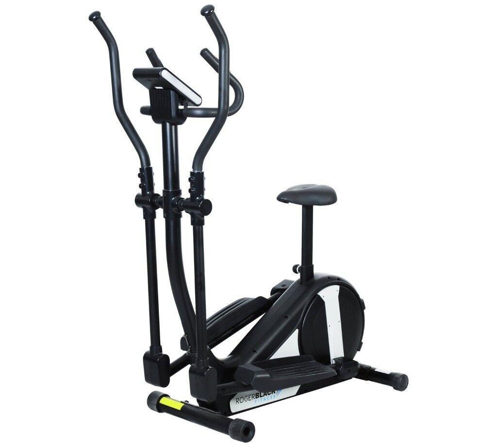 Roger black 2in1 crosstrainer/exercise bike