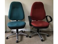2 Office Chairs TO COLLECT