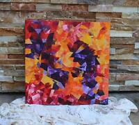 Affordable Art - Original Colourful Abstract Painting