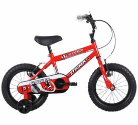 Sonic Strikers Red 14 inch Bike -brand new-