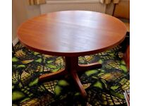 Gplan Dining Table with 2 leaves