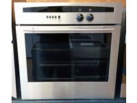Neff B1421N0GB Series 1 Circotherm Electric Single Oven In Stainless Steel