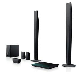 High end high bass 1000w 3d home cinema system as new, tallboy speakers