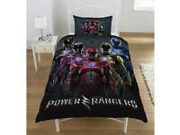 Power rangers bedding