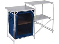 Aluminium Camping Kitchen and Table Set brand new