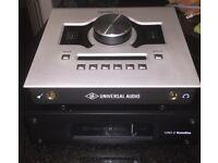 Universal Audio, UAD Apollo Twin & UAD-2 Satellite QUAD. Plus 26 top plugins